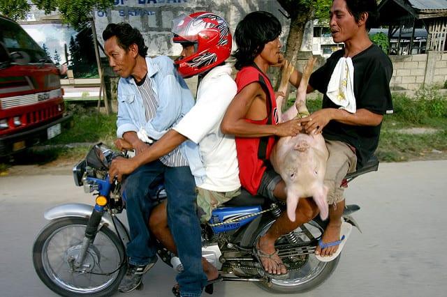 transporte en filipinas